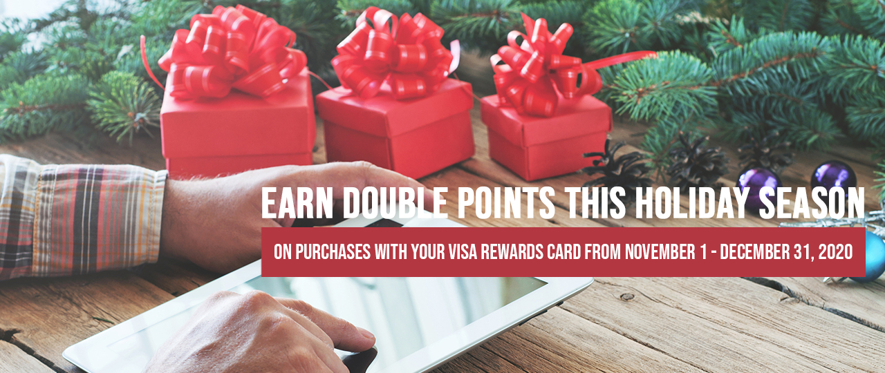 Holiday Double Points