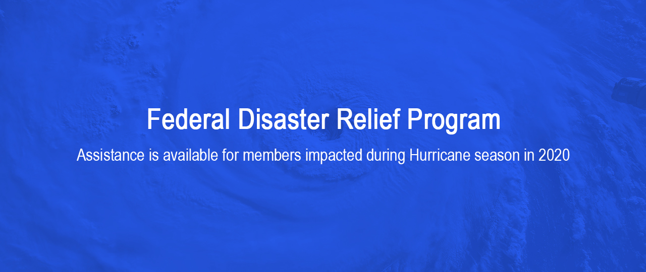 Federal Disaster Relief Program Hurricane