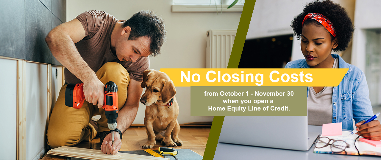 No Closing Costs Promo Banner